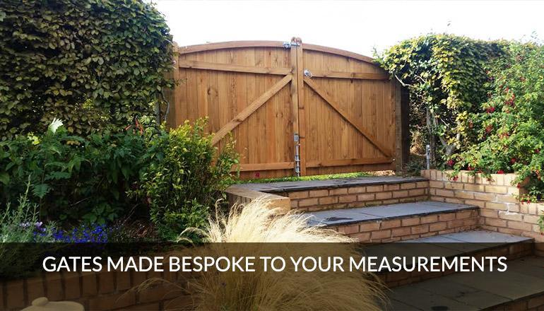 Timber gates made bespoke to your measurements